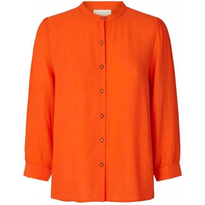 Billede af Lollys Laundry Amalie Shirt Orange