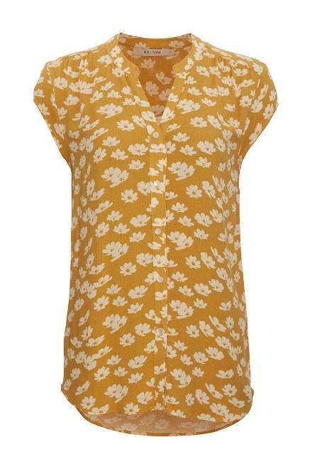 Billede af Rue de Femme Luna Shirt Yellow