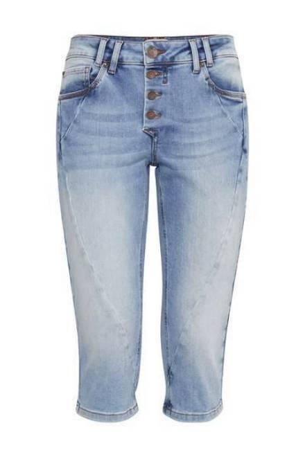 Billede af Pulz Rosita Capri Jeans Light Blue