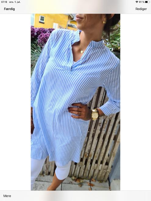 Billede af Copenhagen Luxe Shirt Blue ST1552
