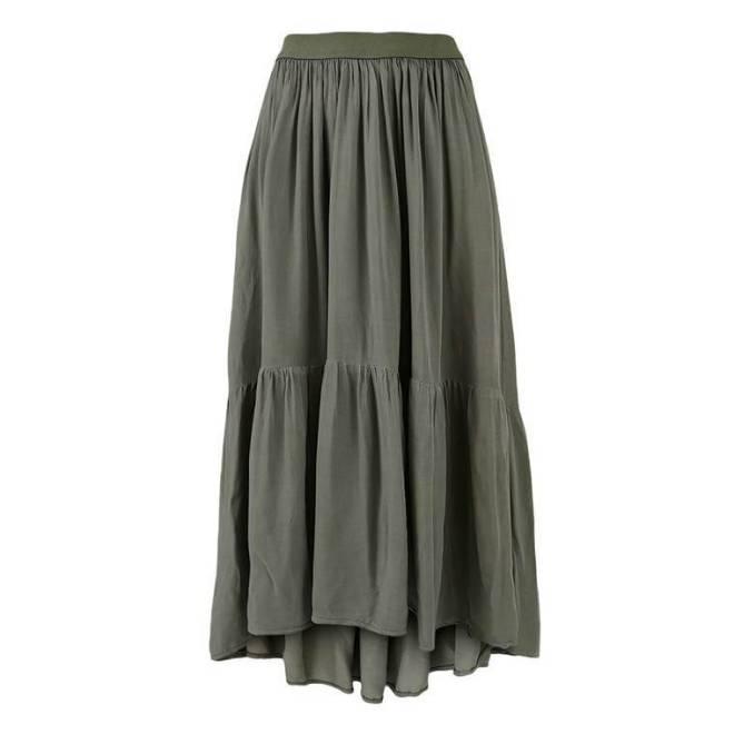 Billede af Black Colour Dark Army skirt