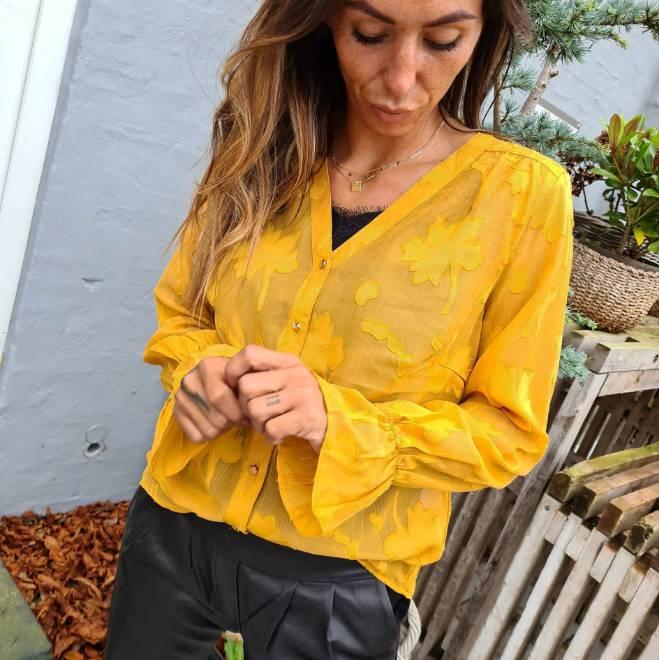 Billede af Rue de Femme Rossa Shirt Yellow