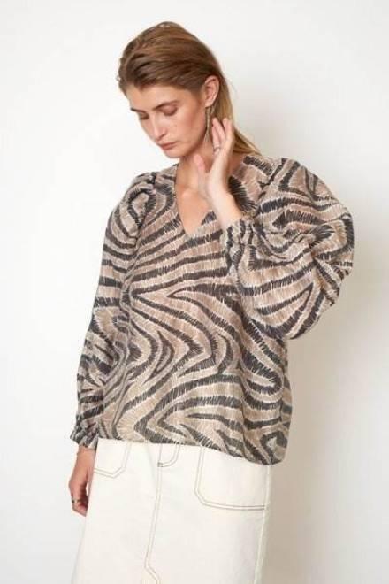 Billede af Second Female Lilly Shirt Humus