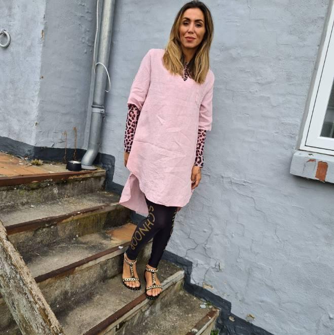 Billede af Copenhagen Lux Dress Rose hør