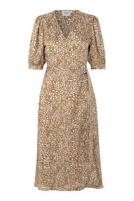 Billede af Second Female Wrap Dress Bronze