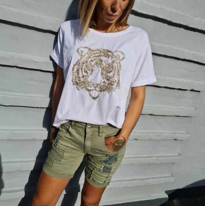 Billede af Marta T-Shirt Guld D545