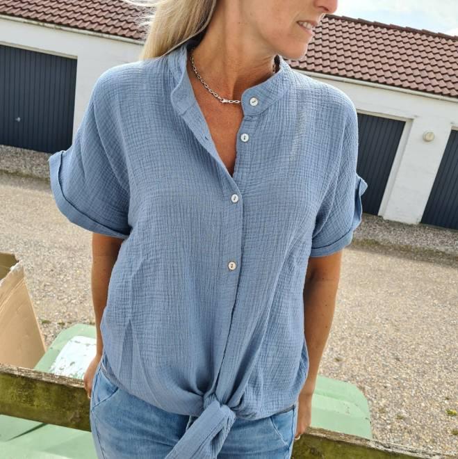 Billede af Black Colour Dune Shirt Blue