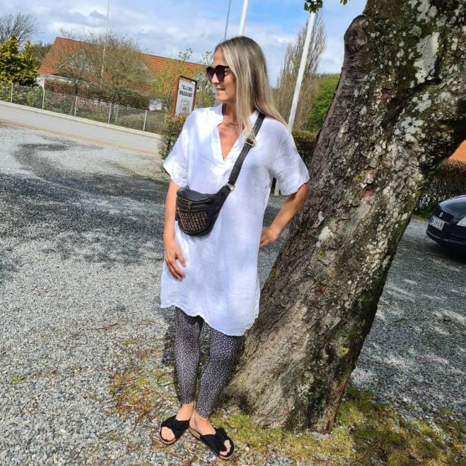 Billede af Black Colour Siena Tunic White