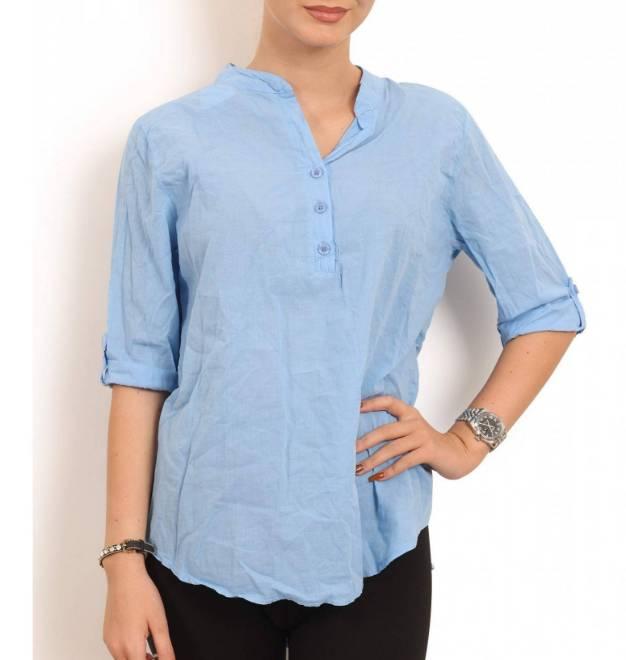 Billede af Copenhagen Luxe Blue Skjorte 1149