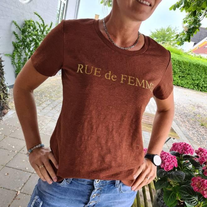 Billede af Rue de Femme Tee Brun