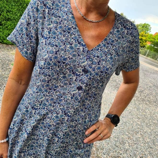 Billede af Lollys Laundry Dress Anja Dark Blue